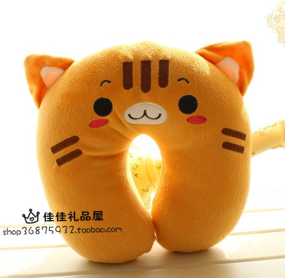 Wholesale Cartoon U-shaped pillow neck pillow nap pillow cushion lumbar pillow