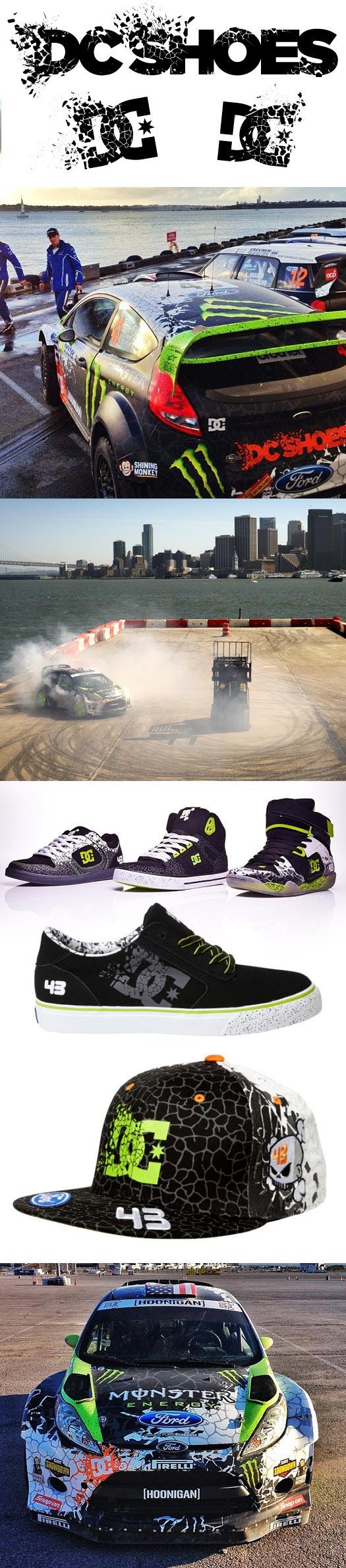 DC Shoes / Ken Block Branding & Vehicle Graphics by SoupGraphix Inc. , via Behance