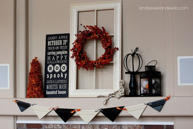 Halloween Bunting | I Heart Nap Time - Easy recipes, DIY crafts, Homemaking