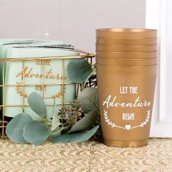 Affordable personalized favors that are easy to order and fun to design! Start here for endless custom wedding favors ideas including lip balm, sunglasses, koozies and more personalized favors.