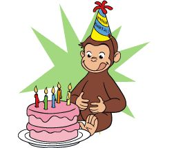 pbs kids curious george birthday party ideas