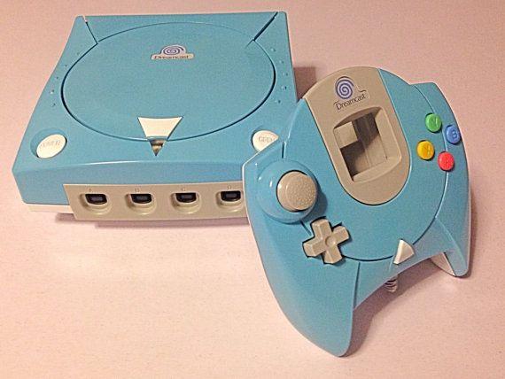 Custom Sega Dreamcast by retrospective22 on Etsy