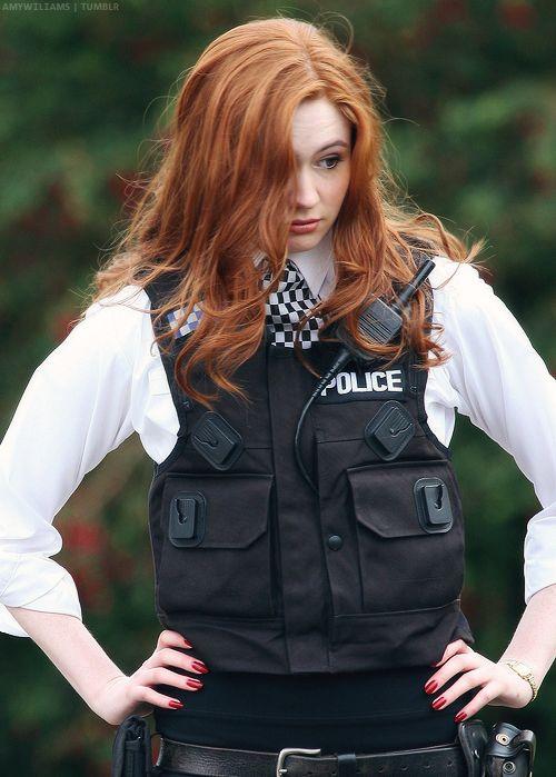 Policewoman amy pond - 5 4