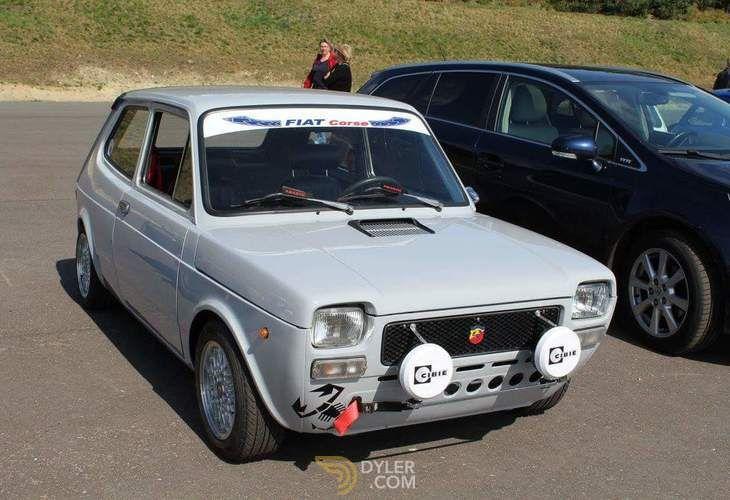 Fiat 127 Abarth Hatchback 1977 Grey Abarth 19524 Con Imagenes