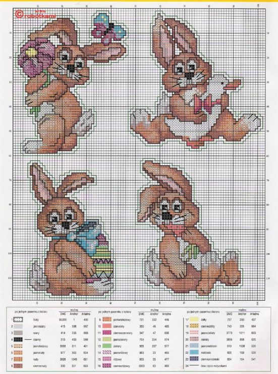 Cross-stitch Bunnies & More Bunnies...     Gallery.ru / Фото #170 - 45 - markisa81