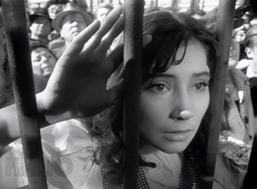 """Tatiana Samoilova as Veronika in """"The Cranes are Flying"""""""