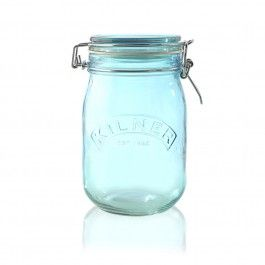 Ideal for storing dried herbs and spices as well as preserving fruits, pickles, jams, etc. Has the Kilner brand embossed in the front and is finished with a    white rubber seal. Also perfect for gifting. Hand wash only. W 110mm x H 180mm…