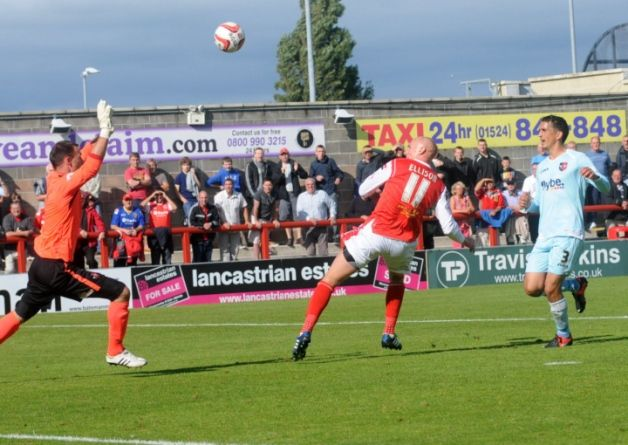 Morecambe travel to Exeter City on Saturday.