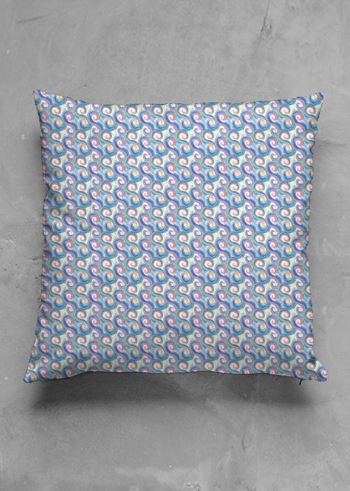 Sea Dragon- luxury pillow design by Charles Bridge 7x  buy in my Vida collection