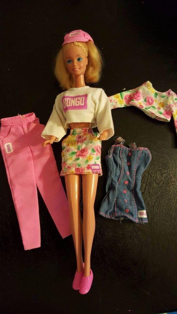 Vintage Barbie BONGO Clothing & Accessory Lot- Huge! EVC  #Mattel