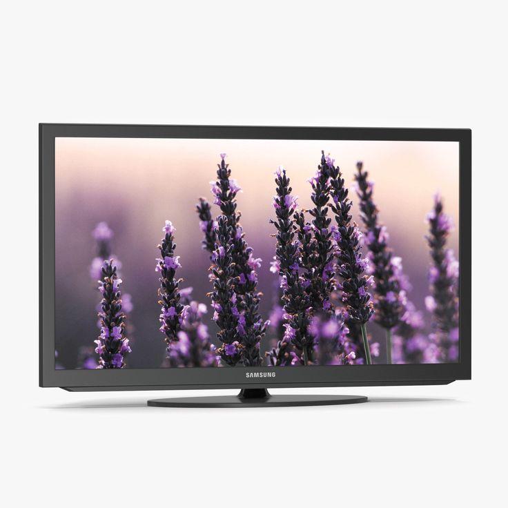 Samsung LED Smart TV 3d model