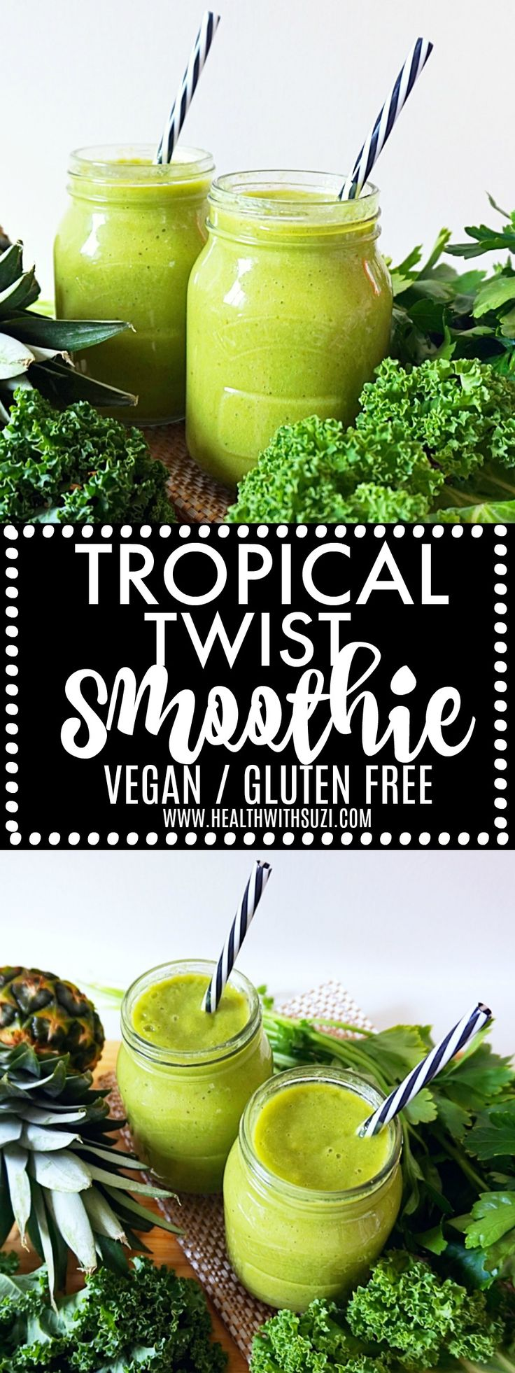 This smoothie is so cleansing and refreshing and the combination of ingredients make it taste so delicious! I love it!
