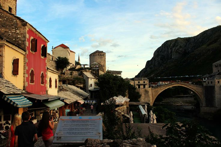 Mostar, BiH. Cutest place on earth.