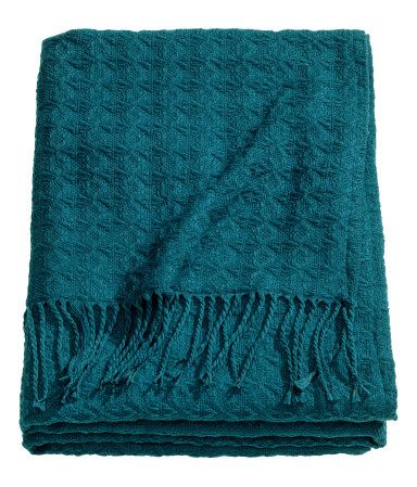 H M Textured Throw 34 95 Bedroom Nesting In 2018 Pinterest Home And Teal Throws