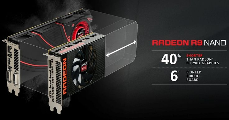 AMD's Fiji architecture and High Bandwidth Memory gets exciting with the Radeon R9 Nano, a new super-small video card with horsepower close to Fury X.