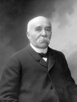 "Georges Clemenceau (1841 - 1929) was an editor for L'Aurore and founded the title ""J'Accuse!"" for Zola's letter to the President of the Republic.  He had his own writings on the Affair which were published in seven volumes by Stock between 1899 and 1903.  Written in September 1899, the final volume of the Affair led to the amnesty law of 1900 - denounced by Zola and Clemenceau."