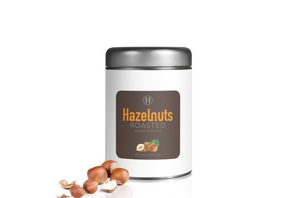 Hazelnuts Watercolors Illustration by andypray on @creativemarket