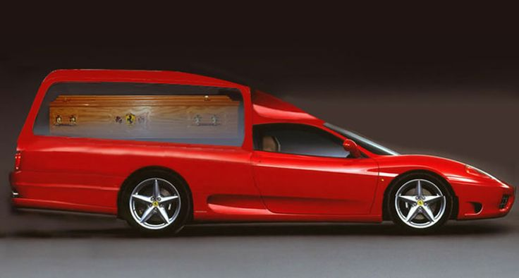 Ferrari Hearse Red 360