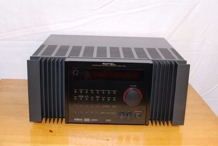 ROTEL RSX 1067 7.1 Surround Sound Receiver DTS RDS DOLBY Digital #Rotel