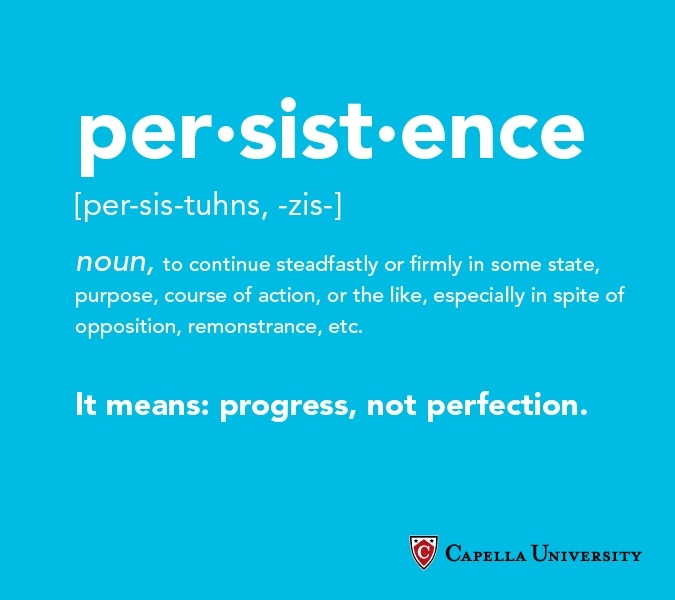 Persistence Motivational Quotes: 30 Best Progress, Not Perfection Images On Pinterest