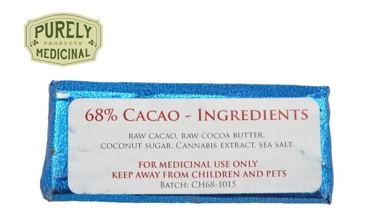 68% Cocoa Chocolate Car 60mg THC Total - 6 Pieces x 10mg THC   The Knowledgeable Cannabis Dispensary, Payne Consulting... Now Delivers Canada Wide! Free Shipping for Orders over $250