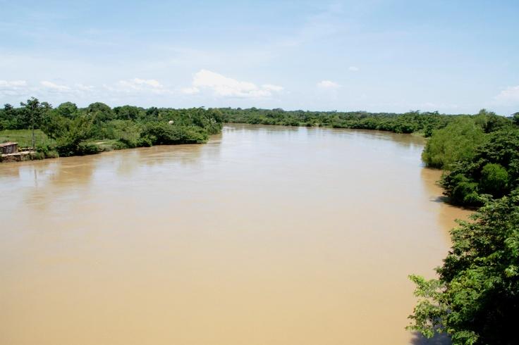 La grandeza del río Sinú