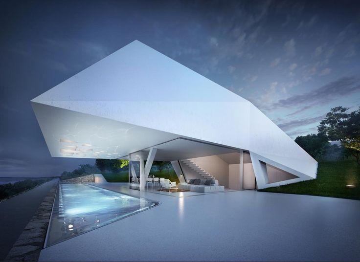 10 Casas Futuristas Que Te Asombrarán Hoy | Ideas Arquitectos
