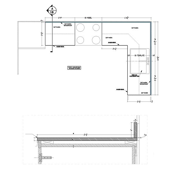 Kitchen Countertop Shop Drawings Kitchen Countertops Kitchen Decor Styles Kitchen Remodel