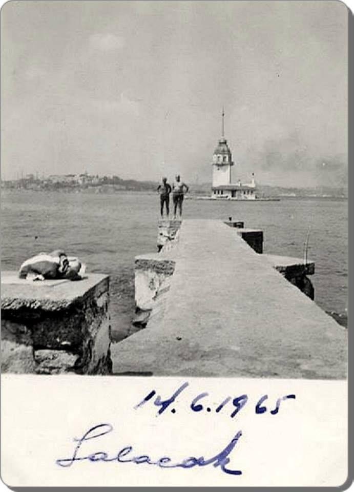 Üsküdar Salacak İskelesi - 1965