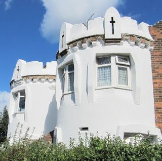 Whitecastle Mansions, by Ernest Trobridge in Kingsbury, London