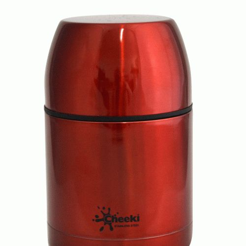 550 ml Insulated Red Food Jar