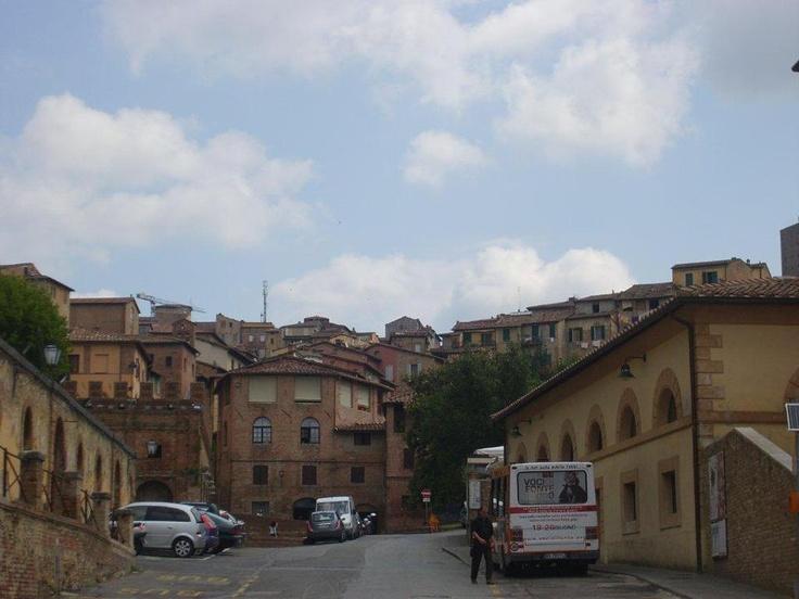 a. 13. yy sonlarına doğru gotik sanat eğilimi başladı, daha önceleri bizans stili yaygındı.14.yy Lorenzetti kardeşler isimli sanatçılar renkleri canlı tutup paletlerini zenginleştirdiler... Daha fazla bilgi fotoğraf için; http://www.geziyorum.net/siena/
