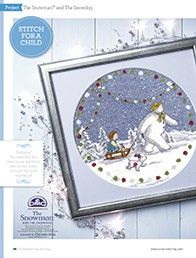 The Snowman and The Snowdog The World of Cross Stitching Issue 235 Christmas 2015 Saved