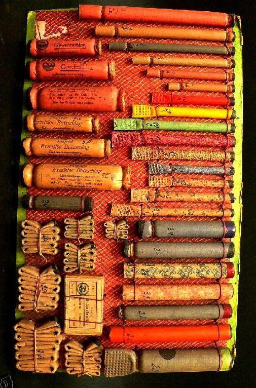 Old fireworks