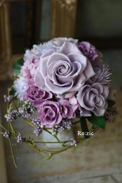 preserved flower http://rozicdiary.exblog.jp/23125727/
