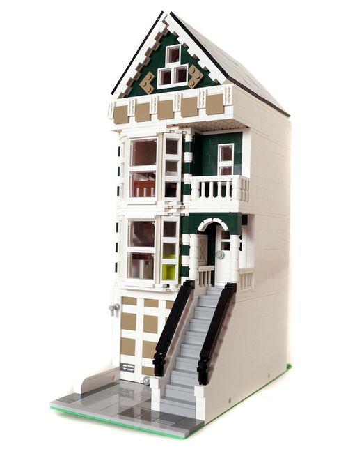 San Francisco Victorian House Lego Modular Building