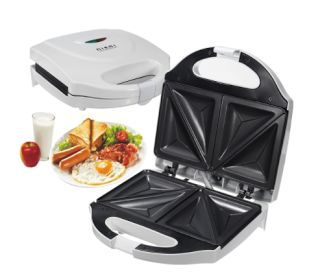 Electric Sandwich Toaster Toasties Maker Non Stick Panini Cooker Grill Machine
