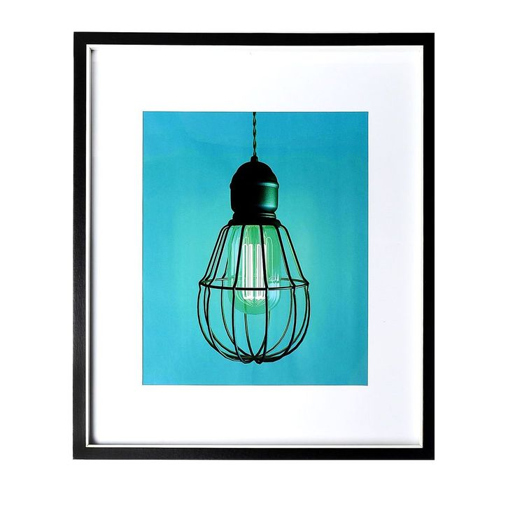 Bilderrahmen Licht  Mischholz schwarz ca B:40 x L:50 cm