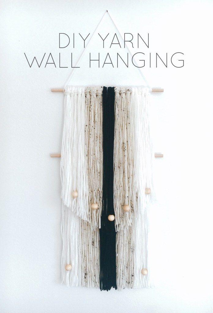 17 best ideas about yarn wall hanging on pinterest diy for Yarn wall art