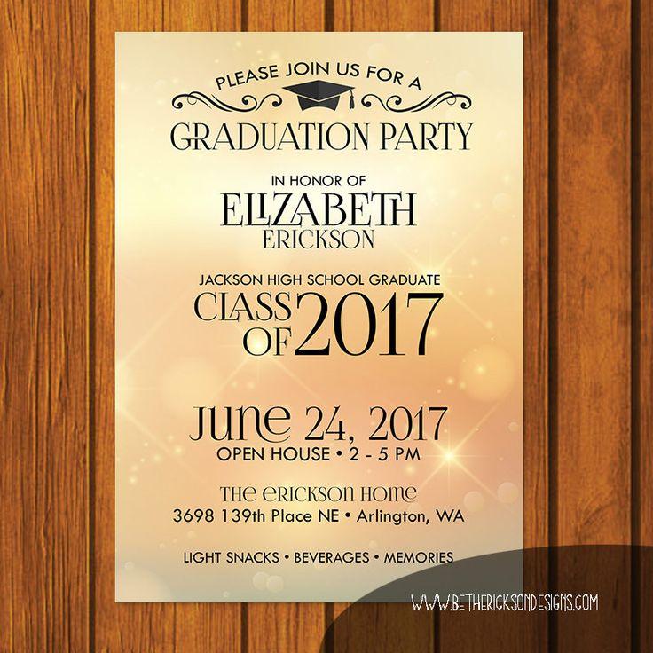 The 25 best open house invitation ideas on pinterest senior graduation invitations open for Graduation open house invitation
