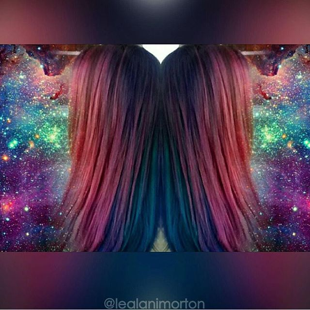 You actually become one with the universe and your ombre.