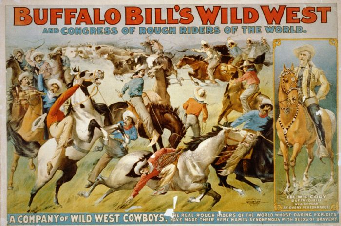 Buffalo Bill's Wild West Show - 8-Card Set - photos and art of the famous traveling event – ONLY $2.99:  http://westerncollectibles.blogspot.com/2015/11/buffalo-bill-wild-west-show-cards.html