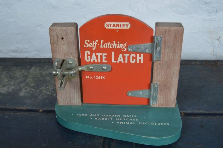 RARE Stanley tools gate country store display fence sign RARE #stanley