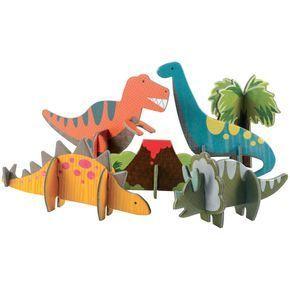 Images : Puzzle Pop out Dinos 3D