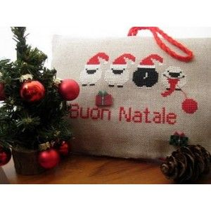 sheep christmas! - punti d'incontro: buon natale - schema free