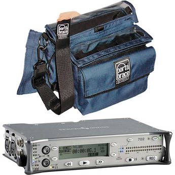 Sound Devices 702 Field Recorder and Porta Brace AR-7 Case Bundle