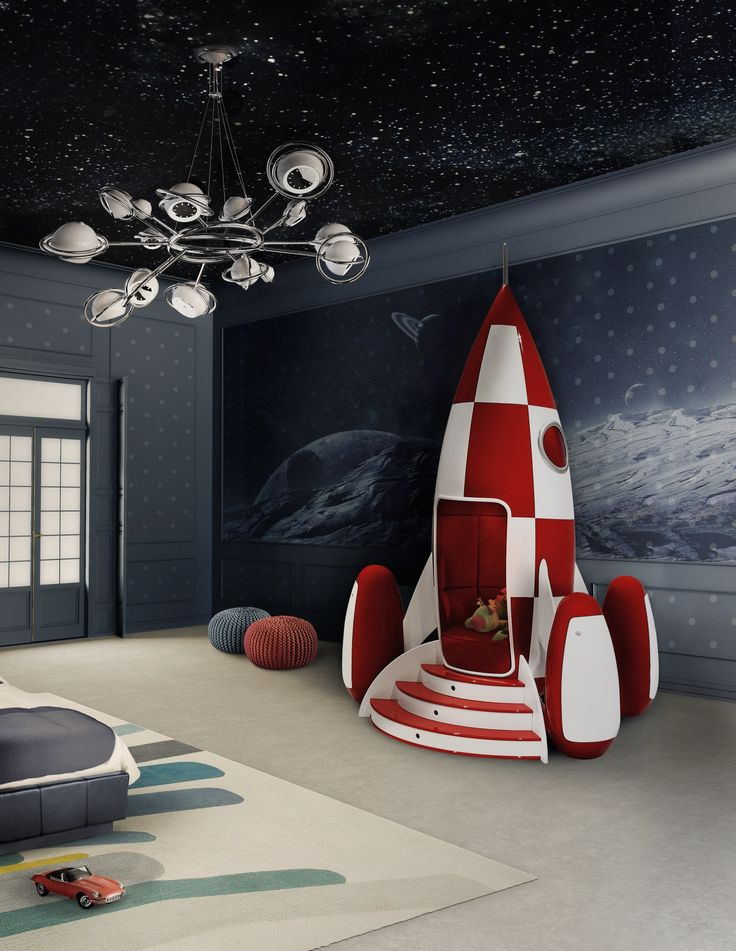 Create A Luxurious And Unique Decoration For The Kidsu0027 Room With These  Universe Themed Projects