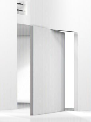 Purity of lines, L'Invisibile flush door by Portarredo, without visible frame _