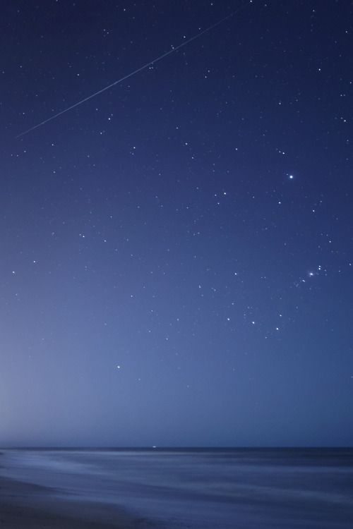 The beautiful night sky