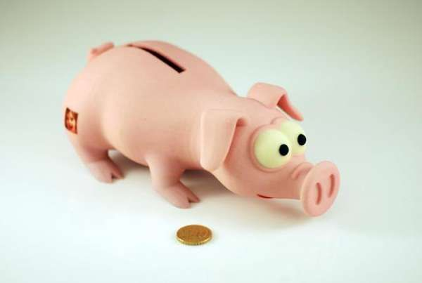 Shapeways' Money Pig Can be Customized with Your Images trendhunter.com